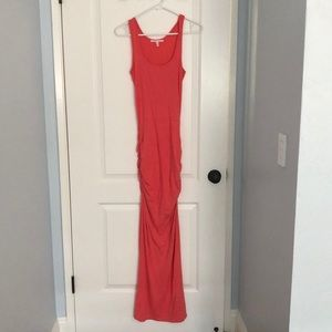 Victoria's Secret rouched tank maxi dress